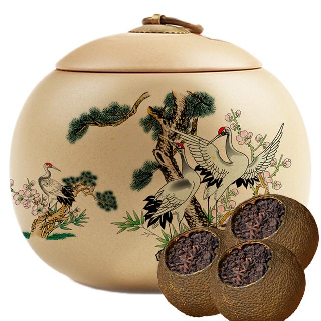 约15颗]新会小青柑 配陶瓷罐