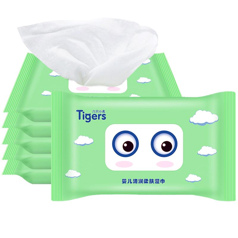 婴儿柔湿纸巾2包