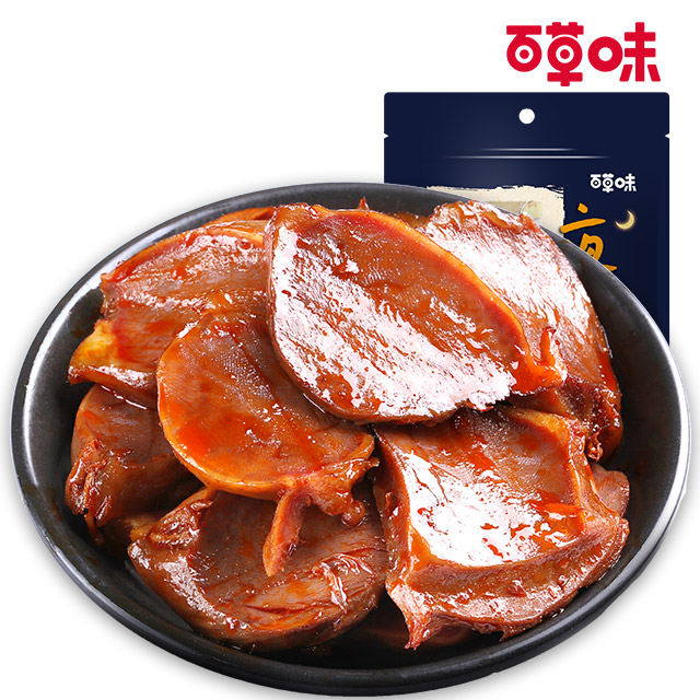 百草味 鸭肫115g
