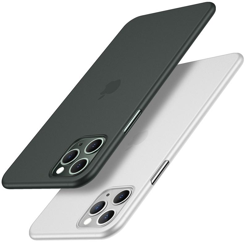 苹果11系列超薄防指纹磨砂壳