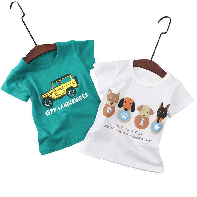 儿童夏季纯棉短袖T恤