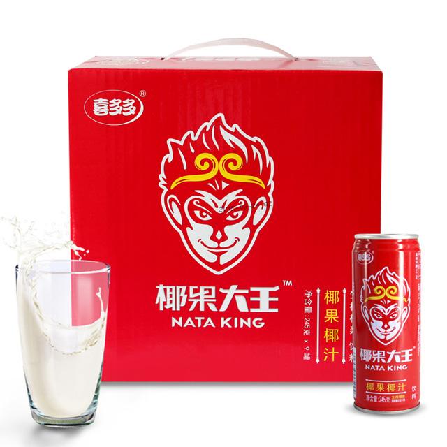 喜多多礼盒 椰果大王椰果椰汁