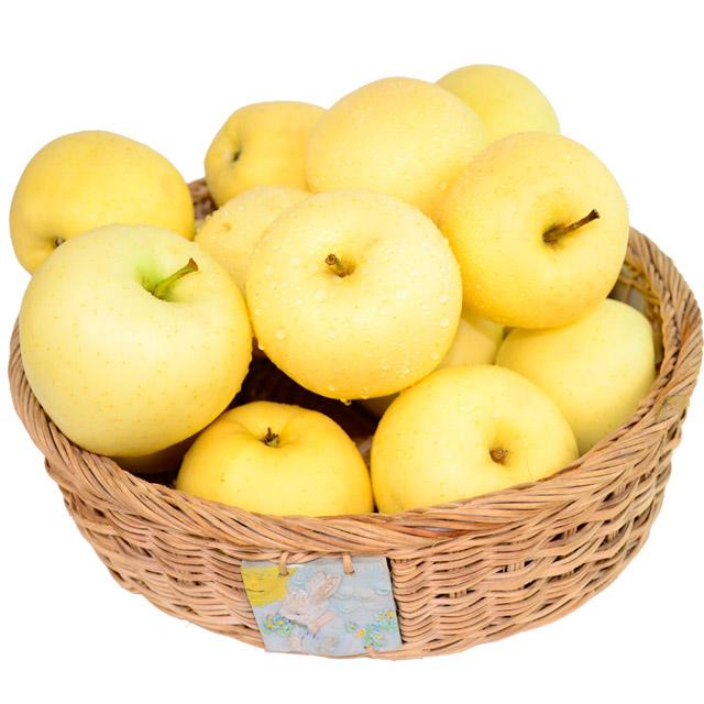 正宗烟台苹果黄金帅5斤