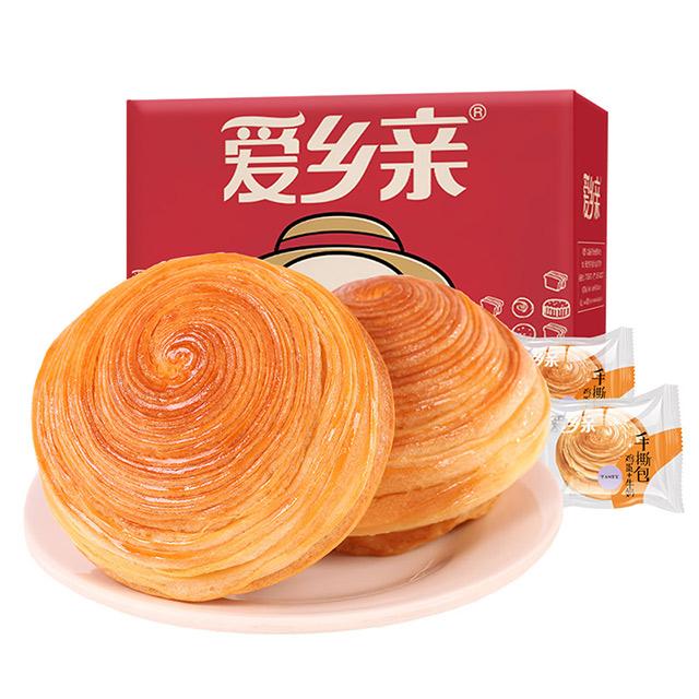 爱乡亲手撕面包500g营养早餐整