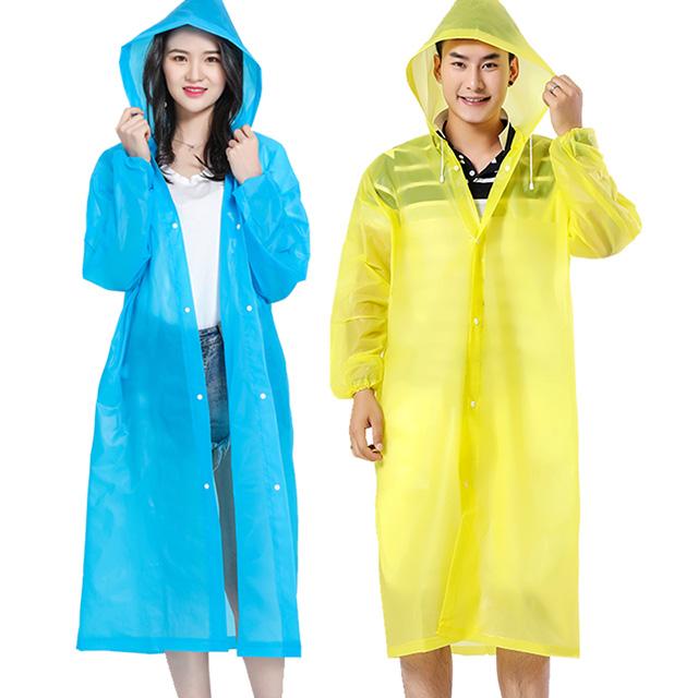 加厚便携时尚徒步旅游雨衣