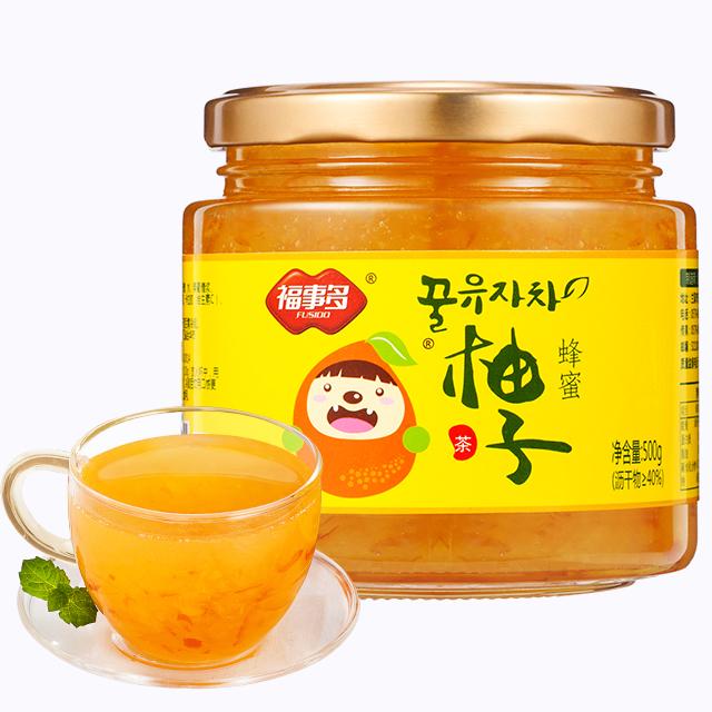 蜂蜜柚子茶500g 健康维C果茶