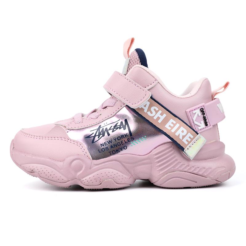 女童运动鞋2019新款春秋款软底