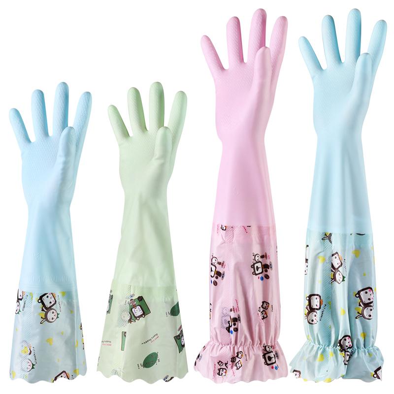 居家家 防水保暖加绒清洁手套