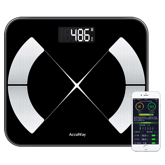 智能体脂秤76项数据助减肥