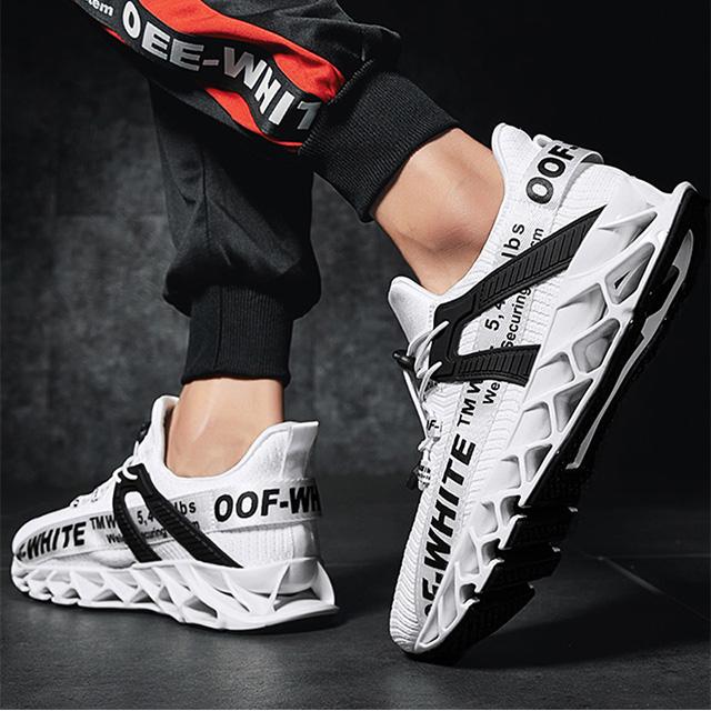 刀锋战士男潮鞋秋季运动跑步鞋