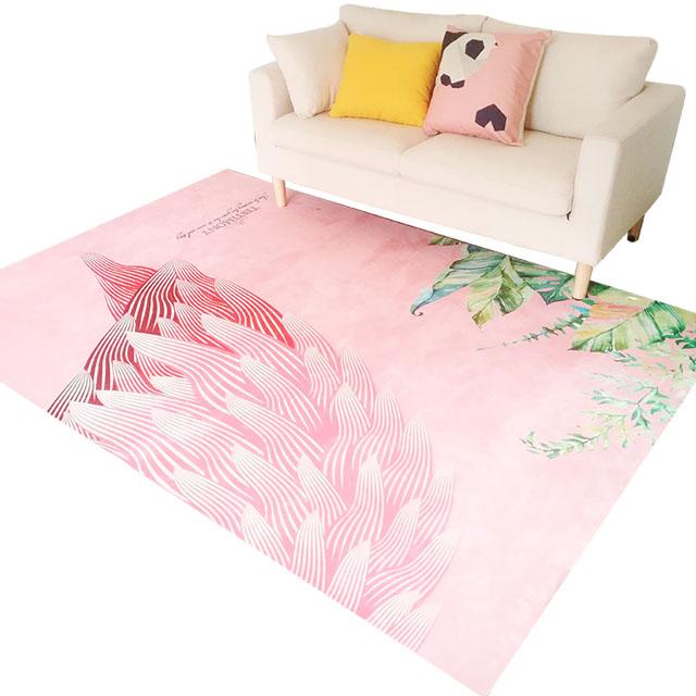 ins地毯卧室床边毯客厅茶几毯