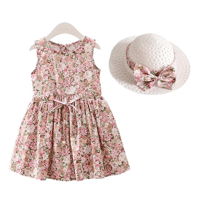女童连衣裙前1000件赠送帽子