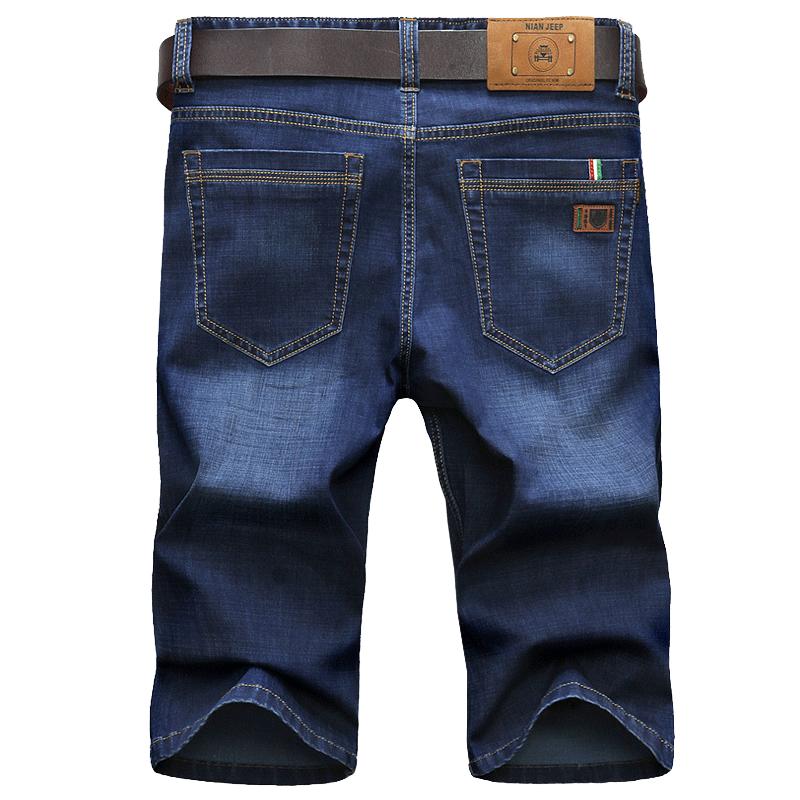 夏季薄款休闲透气弹力牛仔短裤
