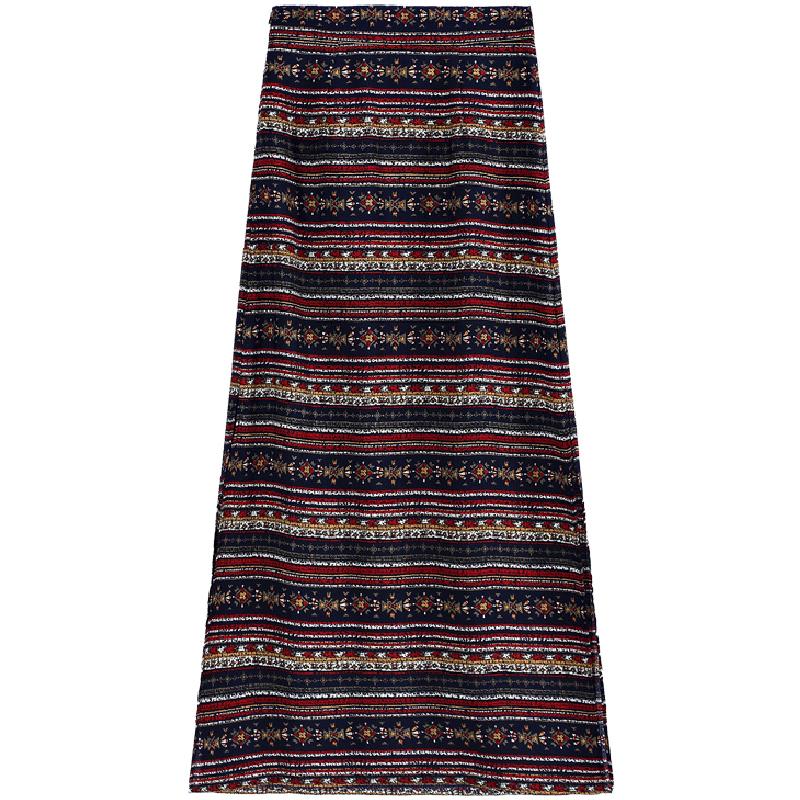 泰國民族風半身裙女度假長裙