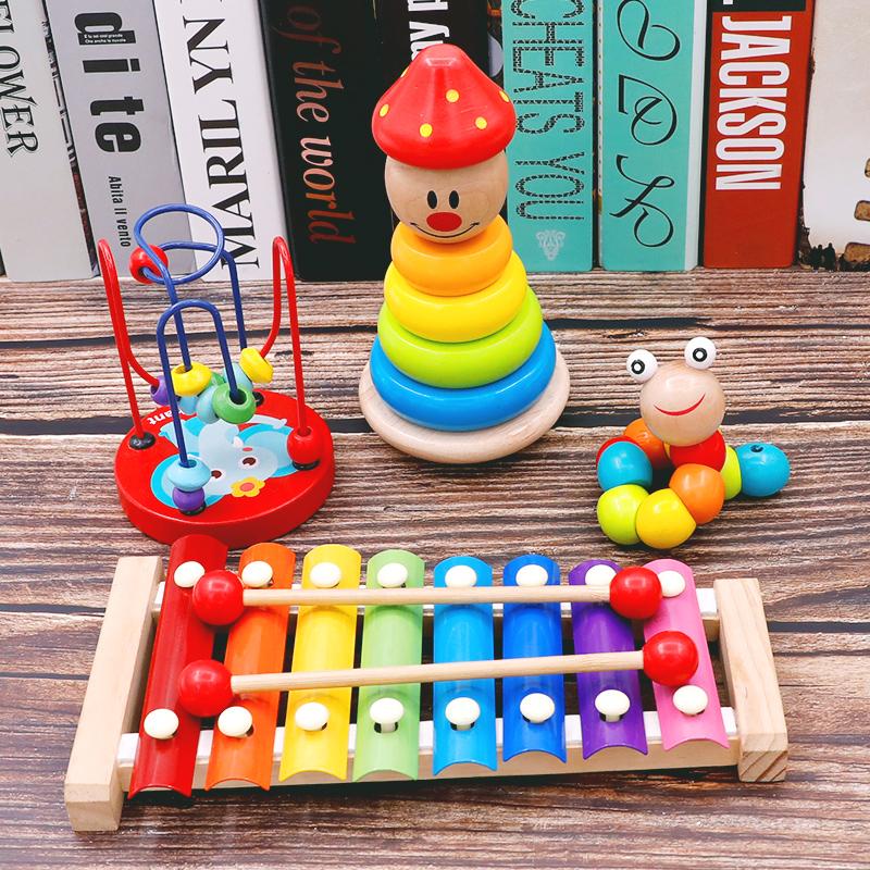 寶寶套塔疊疊樂早教玩具