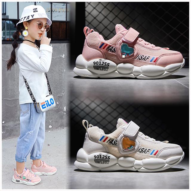 时尚女童运动鞋2019秋季女童鞋