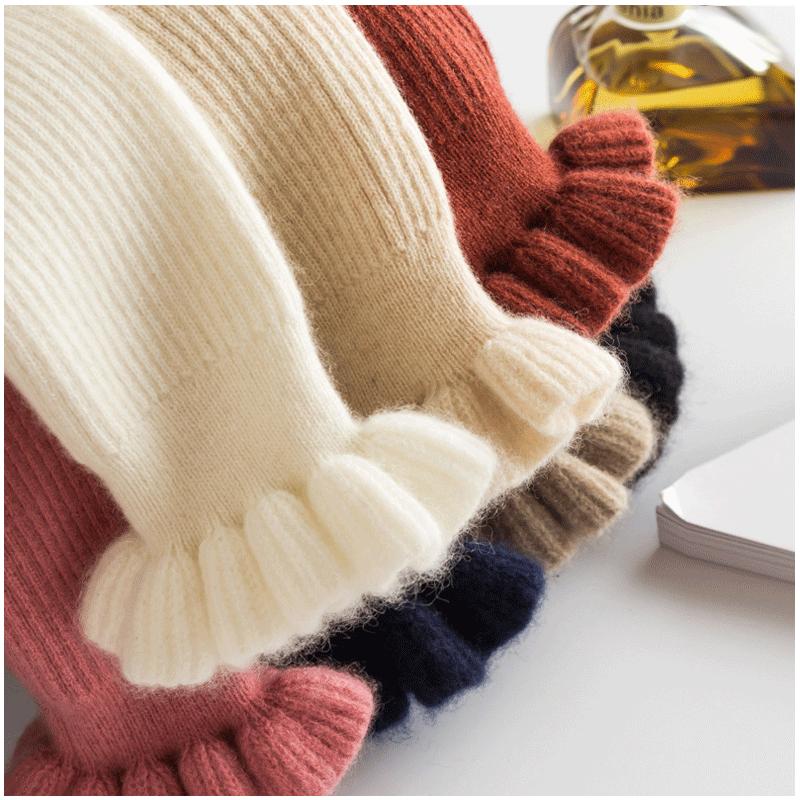 100%不起球 羊毛加厚高领毛衣