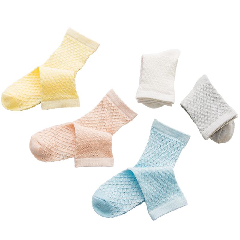 儿童袜子纯棉春秋薄款夏季男童