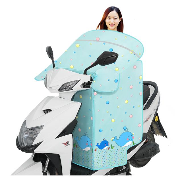 电动摩托车挡风被防晒夏季