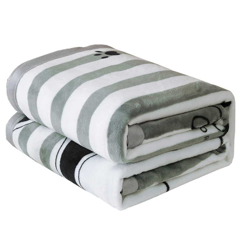 南极人夏季办公室午睡毛巾毯