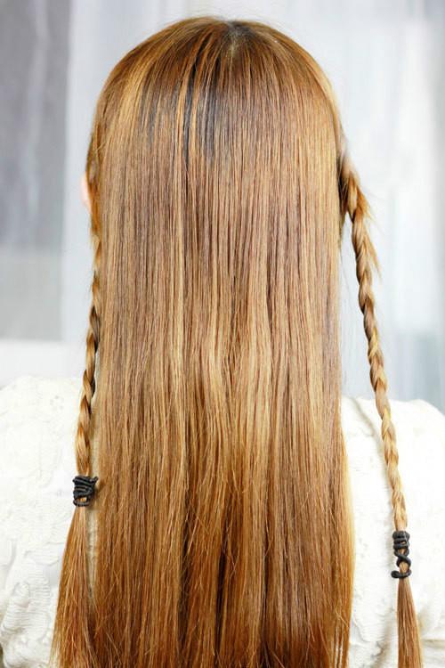 发型二分区的分法