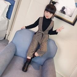韩版新款秋季女童三件套