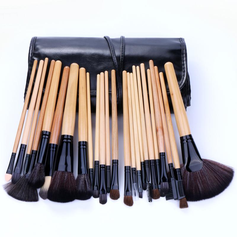 化妆刷24支专业套装初学者全套美妆彩妆工具眉刷眼影套刷组合刷子