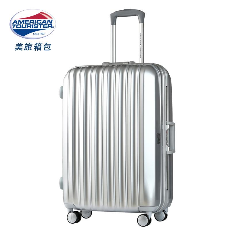 美旅飞机轮铝框拉杆箱旅行箱pc密码行李箱21寸25寸29男女硬箱638