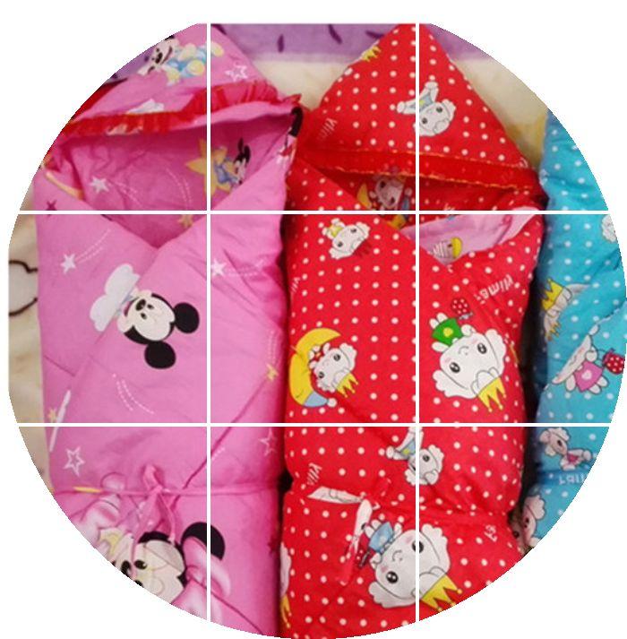 新生兒褥子用品睡袋春秋寶寶幼兒園包被被子嬰兒加厚
