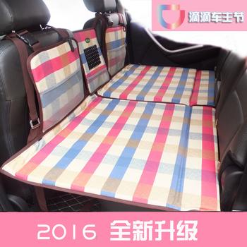 非充气床垫汽车睡垫床 车震床轿车SUV后排座车载旅行床垫车中床