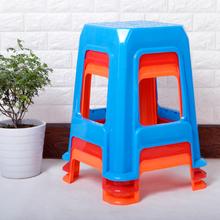 餐饮凳 排挡凳 彩色凳 叠放凳 加宽加厚加高 大方凳子 塑料凳 包邮