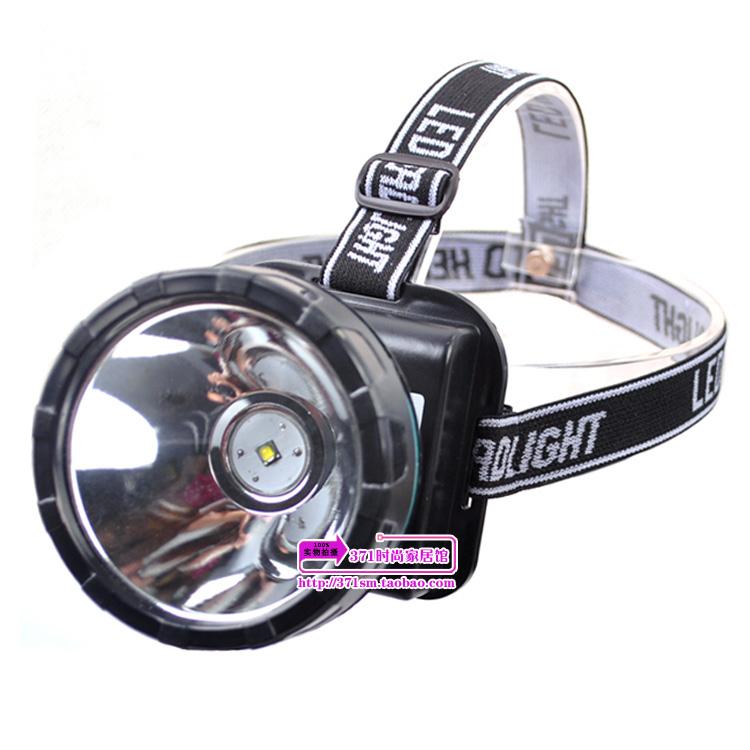 包邮远射远程强光钓鱼打猎头灯LED充电锂电氙气狩猎灯15W大功率