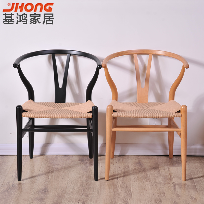 丹麦设计 实木椅子凳子 书桌椅/电脑椅/办公椅/休闲椅  包物流