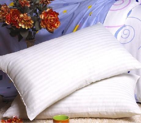 【特价促销】缎条舒适十孔枕芯 1.1斤 重量不少 质量超好