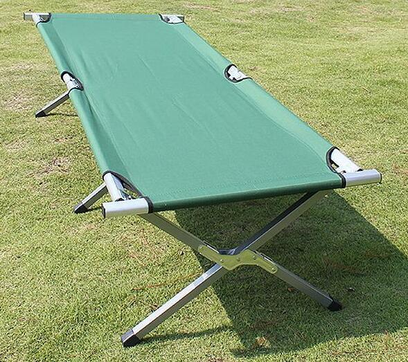 【天天特价】第六代行军床折叠床午休床承重200公斤买一送三包邮