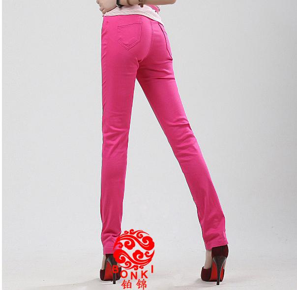 618年中 大促女装 显瘦铅笔裤弹力休闲裤女裤子韩版薄款长裤