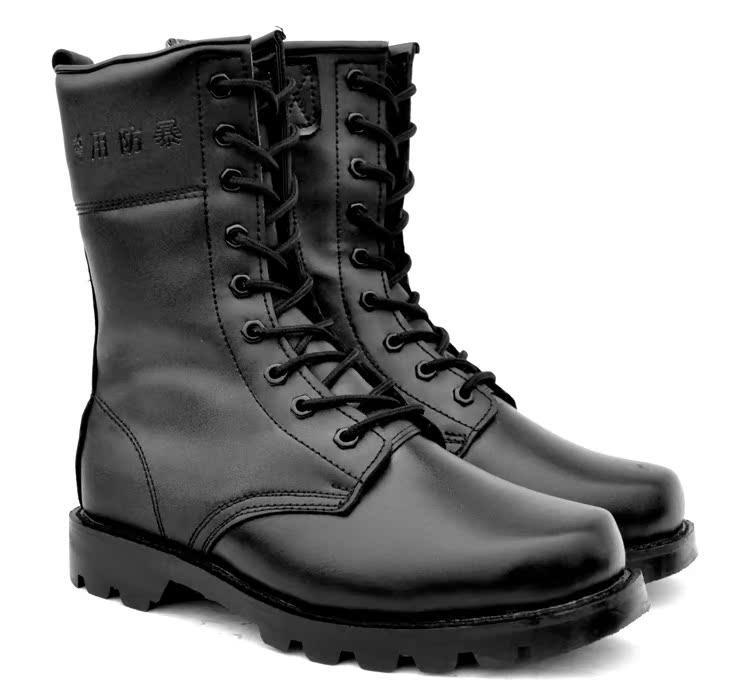 3515男士靴子羊毛靴真皮皮靴钢头钢板皮靴冬款霸气侧漏高帮靴子