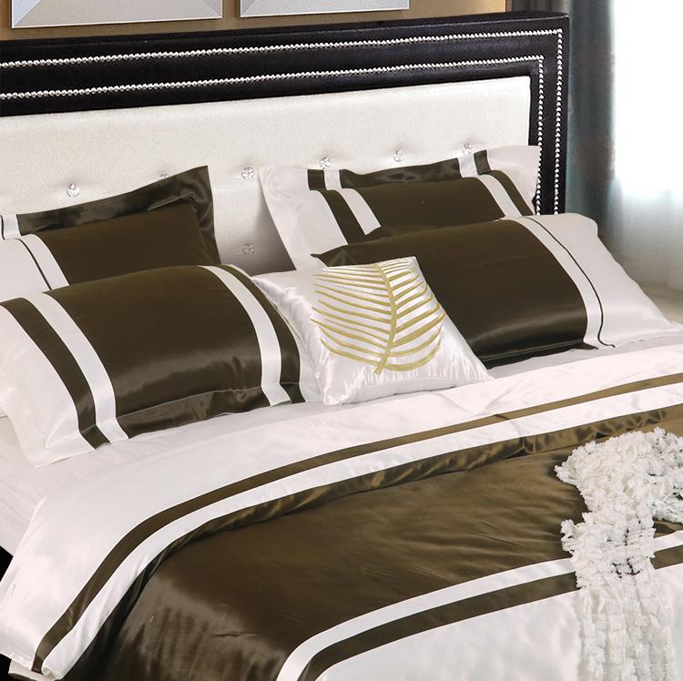 谛安娜家纺欧式床品别墅样板房展厅高档家具店配套件美式床上用品图片