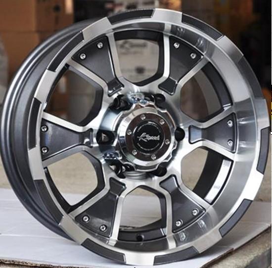 帕杰罗 途乐 帕拉丁 h3 16寸越野车轮毂 超大负值高清图片