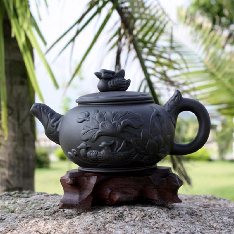 包邮工夫茶具大号大容量泡茶壶过滤紫砂茶壶大容量泡茶壶大茶壶