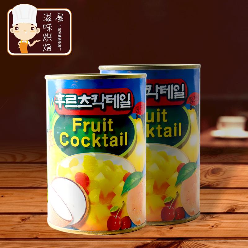 小包装 出口韩国 东锦 什锦杂果罐头 新鲜水果 果肉丰富 425g