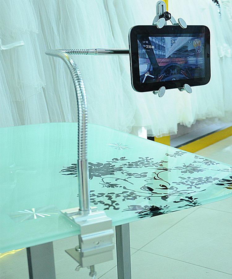 平板电脑支架懒人床头苹果配件手机架子ipad2/3/4 mini支架 通用