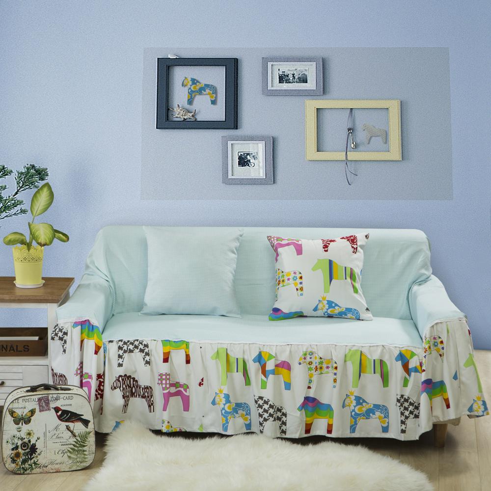 棉麻沙发套沙发罩沙发巾布艺沙发垫防尘布全盖全包防滑夏季夏天图片