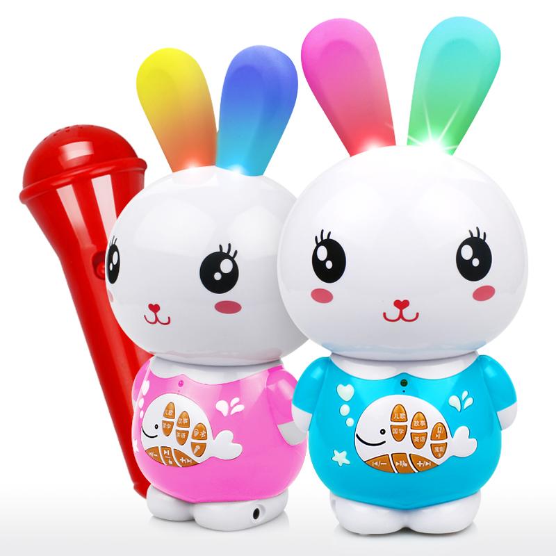 儿童故事机婴儿益智玩具早教机宝宝音乐学习机小兔子