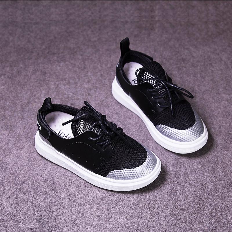 男童防滑跑鞋透氣 防滑運動鞋夏季 休閑女童單鞋