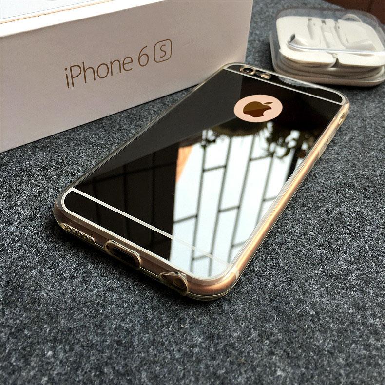 wrz苹果6s6plus镜面保护套