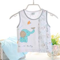 【免费试穿】纯棉男女童夏季套装婴儿宝宝短袖T恤短裤夏装