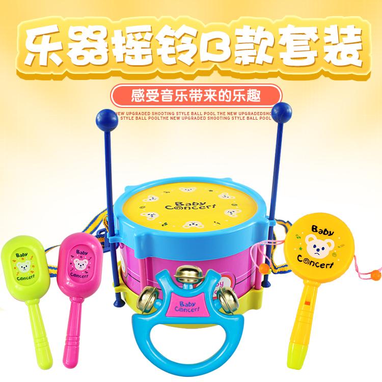 婴儿玩具新生儿音乐宝宝0-1岁3-6-12个月健身架专属手摇铃玩具