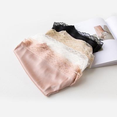 安全裤女夏防走光大码可外穿百搭丝滑蕾丝花边打底裤三分短裤薄款