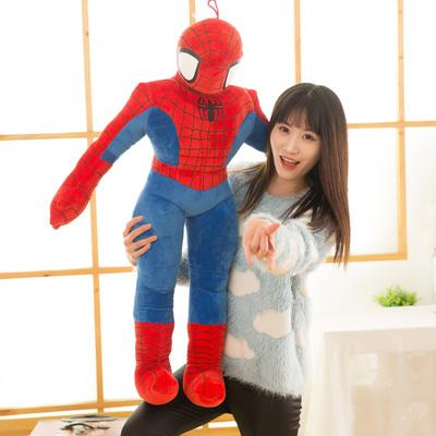 蜘蛛侠卡通公仔奥特曼毛绒玩具玩偶布偶儿童男孩布娃娃抱枕礼物女